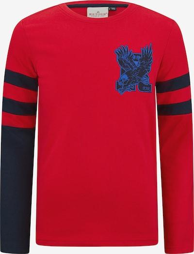 Retour Jeans Tričko 'Elio' - námornícka modrá / kráľovská modrá / ohnivo červená, Produkt