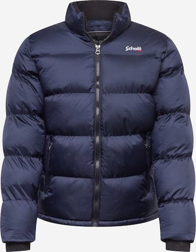 Schott NYC Between-Season Jacket 'IDAHO' in Navy / Light red / White, Item view