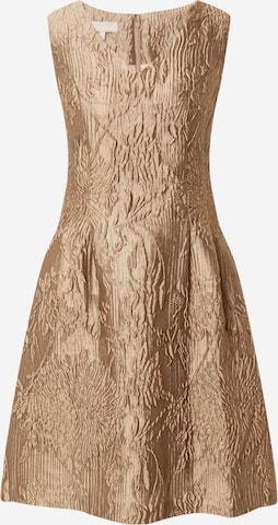 Robe de cocktail APART en bronze