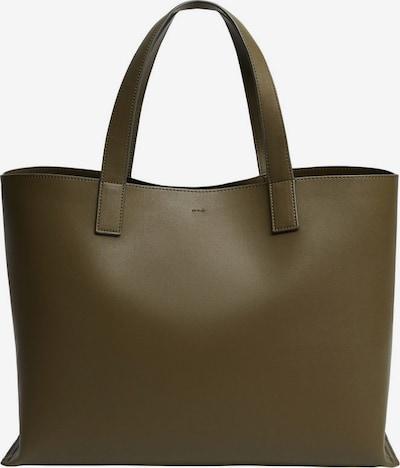 MANGO Nákupní taška 'Nyon' - khaki, Produkt