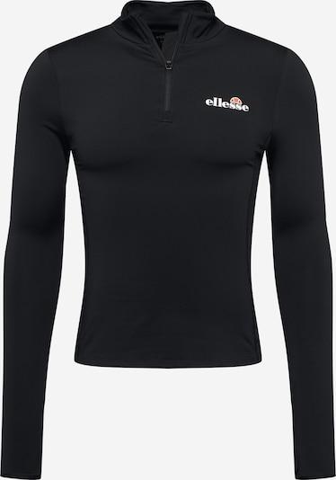 ELLESSE Camiseta funcional 'Sofira' en negro / blanco, Vista del producto