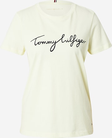 TOMMY HILFIGER Särk, värv kollane