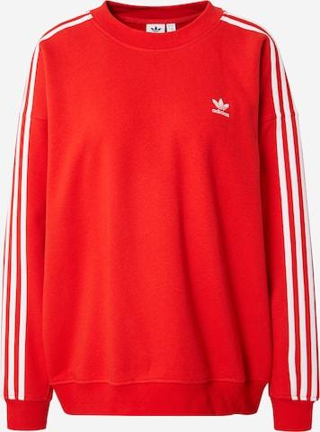 ADIDAS ORIGINALS Sweatshirt in Rot