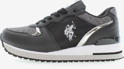 U.S. Polo Assn. Sneaker 'Tuzla2 Glitter' in schwarz, Produktansicht