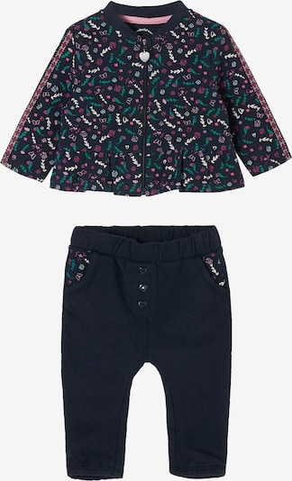 s.Oliver Set in dunkelblau / grün / pink / weiß, Produktansicht