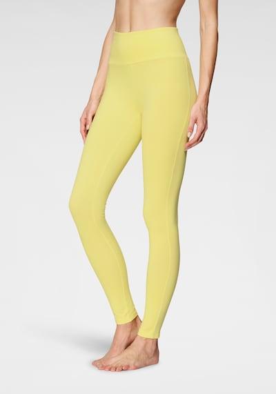 LASCANA Leggings in gelb, Modelansicht