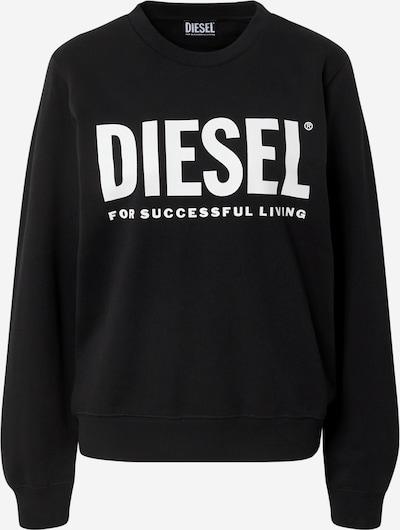 DIESEL Sweatshirt in Black / White, Item view