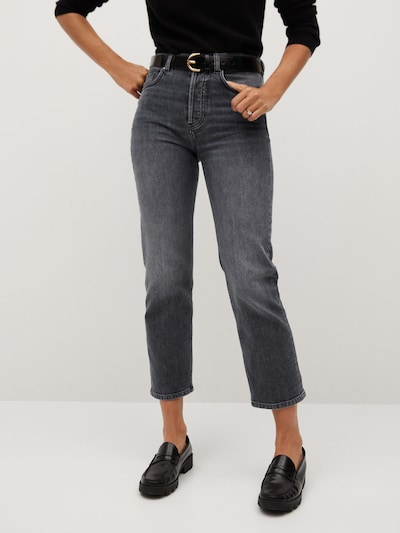 MANGO Jeans in grey denim, Modelansicht