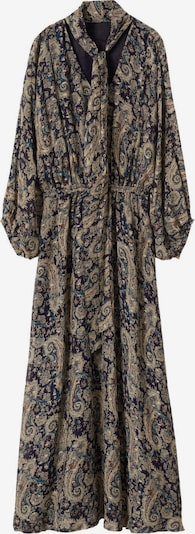 MANGO Kleid 'BEB' in dunkelblau / mischfarben, Produktansicht