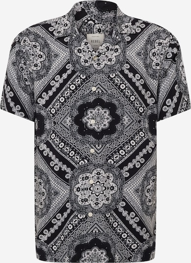 Redefined Rebel Shirt 'Flake' in Black / White, Item view
