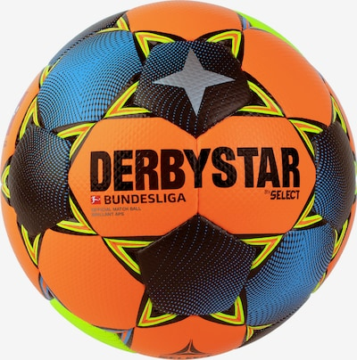 DERBYSTAR Ball in blau / orange / schwarz, Produktansicht