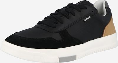 GEOX Zemie brīvā laika apavi 'Segnale', krāsa - brūns / melns, Preces skats