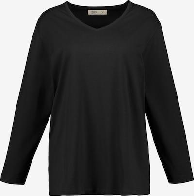 Ulla Popken Shirt in schwarz, Produktansicht