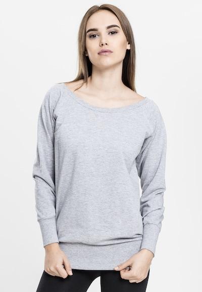 Urban Classics Sweatshirt in de kleur Grijs: Vooraanzicht
