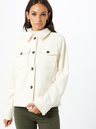 EDC BY ESPRIT Jacke in weiß, Modelansicht