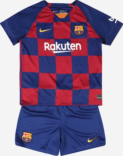 NIKE Trainingsanzug 'FC Barcelona 2019/20 Home' in royalblau / goldgelb / rot / weiß, Produktansicht