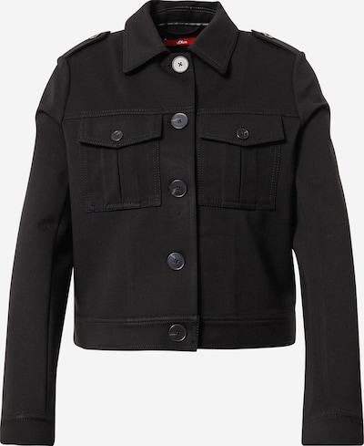s.Oliver Jacke in schwarz, Produktansicht