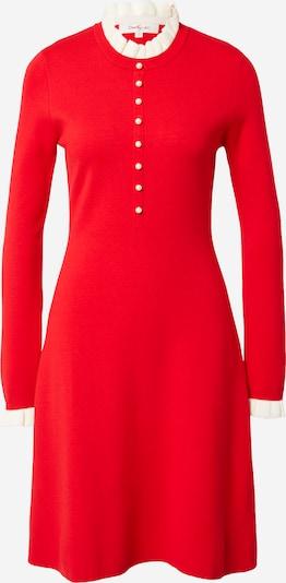 Derhy Robes en maille 'QUIMPER' en rouge / blanc, Vue avec produit