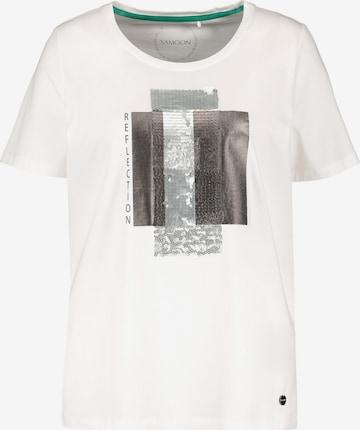 SAMOON Shirt in White