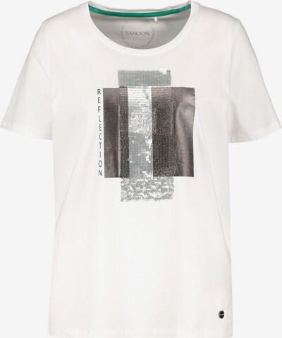 SAMOON T-Shirt in offwhite, Produktansicht