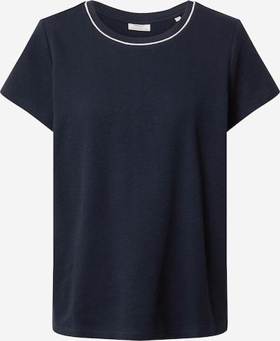 Marc O'Polo DENIM T-shirt en bleu nuit / blanc, Vue avec produit