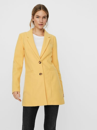 VERO MODA Mantel 'VMDAFNEJANEY' in gelb, Modelansicht