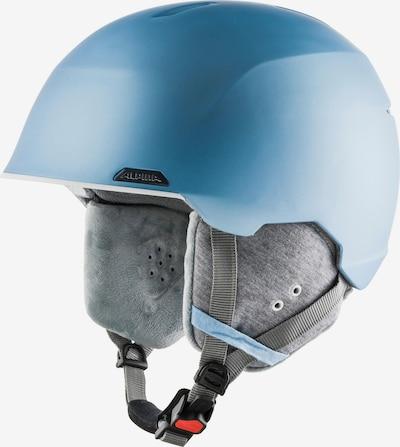 Alpina Skihelm 'Albona' in rauchblau / grau, Produktansicht