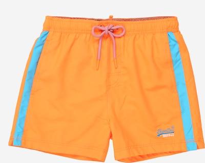 Superdry Kupaće gaće u plava / narančasta: Prednji pogled
