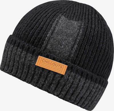 chillouts Beanie 'Boyd' in Grey / Black, Item view