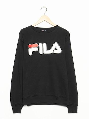 FILA Sweatshirt in L in Schwarz