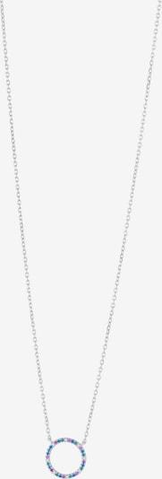 Joanli Nor Chaîne 'Filucanor' en bleu / vert / rose / argent / blanc, Vue avec produit