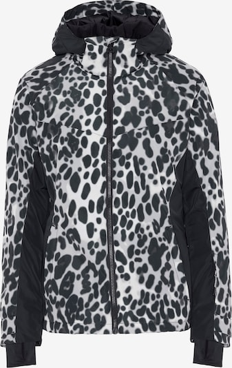 CHIEMSEE Športna jakna | črna / bela barva, Prikaz izdelka