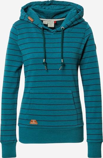 Ragwear Sweatshirt 'BERIT' in karamell / petrol / schwarz, Produktansicht