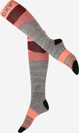 ROXY Sportsocken 'MISTY' in grau / pink, Produktansicht