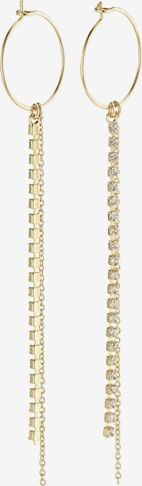 Pilgrim Kolczyki 'Kiara' w kolorze złoty / przezroczystym, Podgląd produktu
