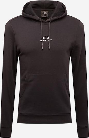 OAKLEY Sweat de sport 'NEW BARK' en noir / blanc, Vue avec produit