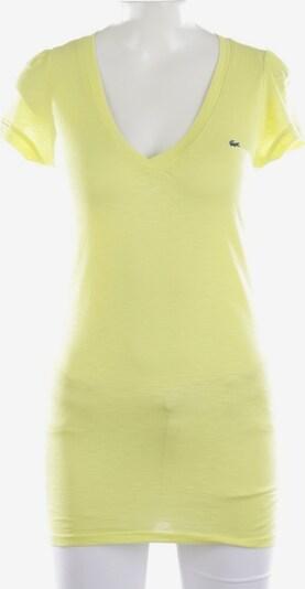 LACOSTE Shirt in S in gelb, Produktansicht