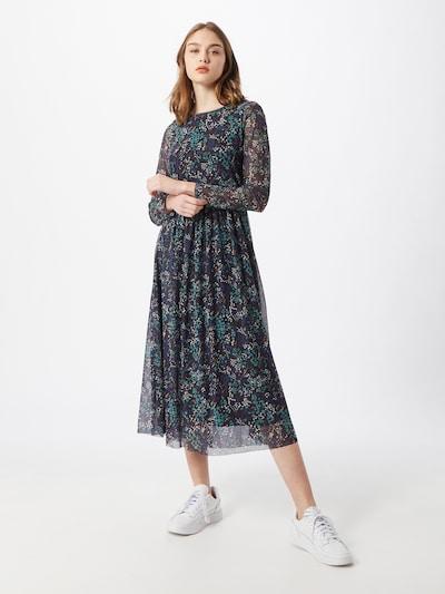 TOM TAILOR Kleid in mischfarben / schwarz, Modelansicht