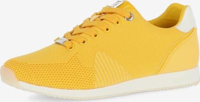 MEXX Sneaker 'Cato' in goldgelb / weiß, Produktansicht