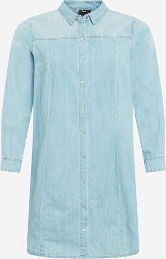 Zizzi Robe 'JEMMA' en bleu denim, Vue avec produit