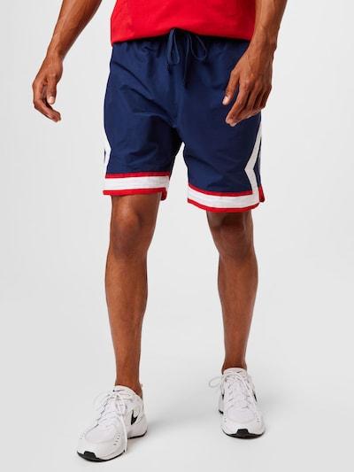Jordan Kalhoty 'Paris Saint-Germain Jumpman' - námořnická modř / ohnivá červená / bílá, Model/ka