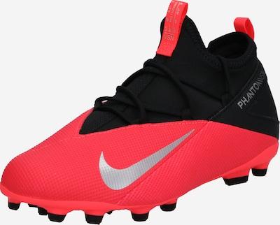 NIKE Sportske cipele 'Jr. Phantom Vision 2 Club' u srebrno siva / neonsko crvena / crna, Pregled proizvoda
