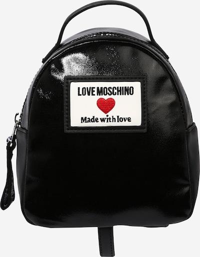 Love Moschino Reppu värissä punainen / musta / valkoinen, Tuotenäkymä