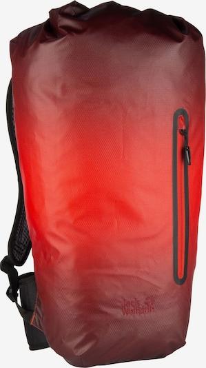 JACK WOLFSKIN Rucksack ' Halo 24 Pack ' in dunkelgrau / orangerot / schwarz, Produktansicht