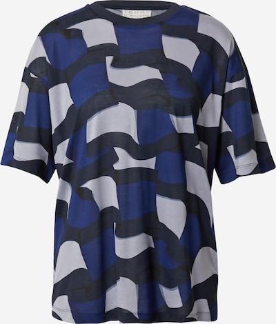 TOMMY HILFIGER T-shirt en bleu nuit / bleu foncé / gris clair, Vue avec produit