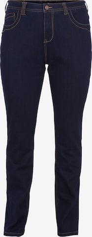 Zizzi Jeans 'Vilma' in Blue