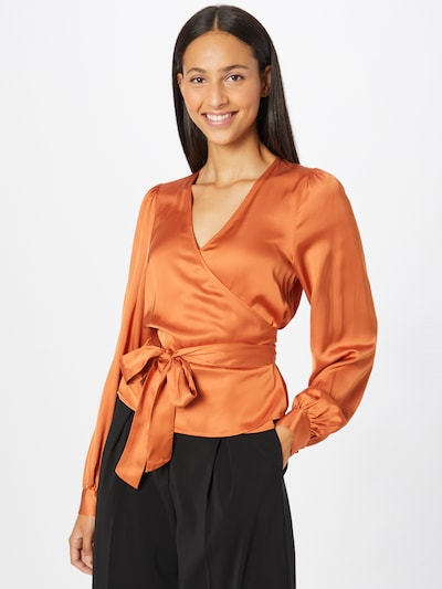 Bluză 'Harlow' 2NDDAY pe maro coniac, Vizualizare model