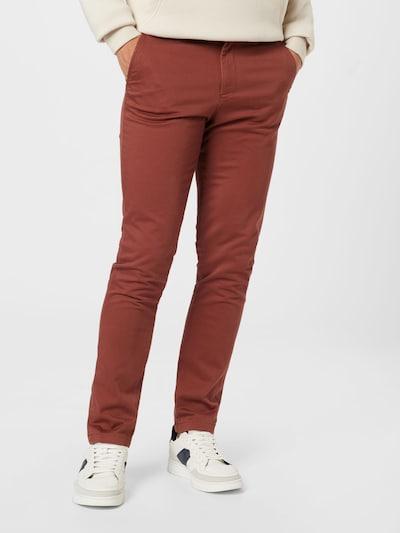 Pantaloni eleganți 'MARCO BOWIE' JACK & JONES pe maro ruginiu, Vizualizare model