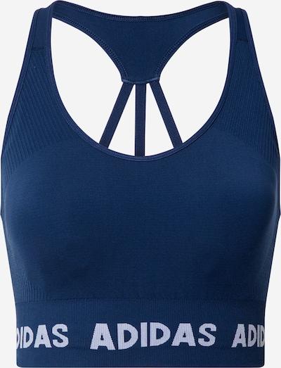 ADIDAS PERFORMANCE Sportovní podprsenka 'Aeroknit' - tyrkysová / tmavě modrá, Produkt