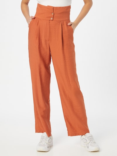 Trendyol Παντελόνι πλισέ σε καμηλό, Άποψη μοντέλου